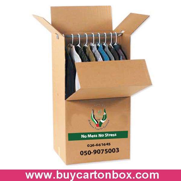 hanger box for clothes